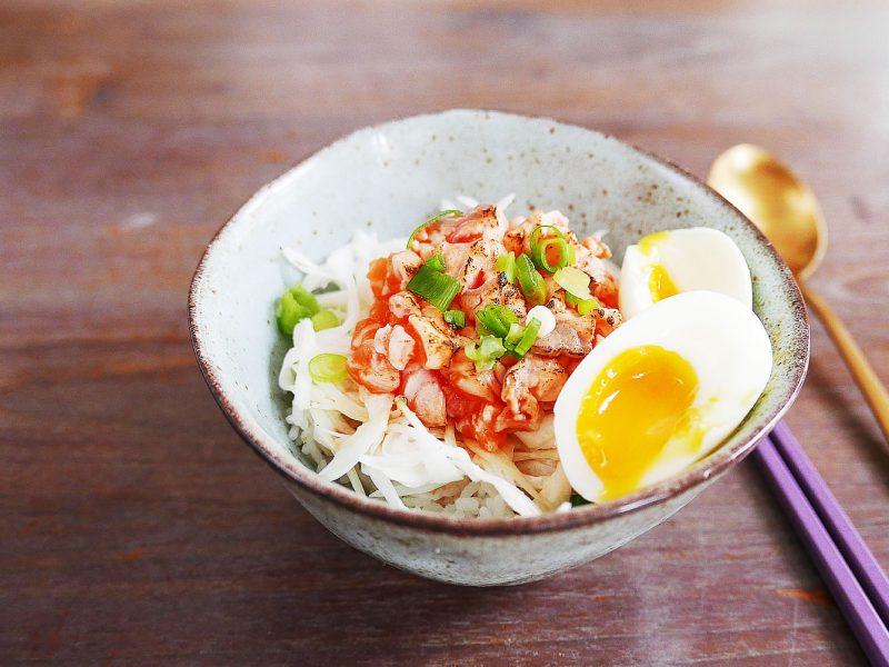 Salmon Donburi Rice Bowl